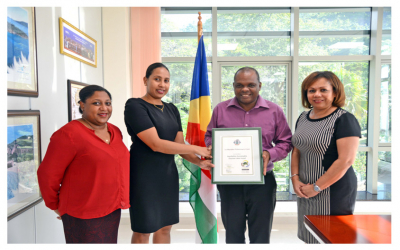 The Seychelles Sustainable Tourism Label certifies its 20th property, Le Meridien Fisherman's Cove